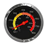 Professional BBQ Thermometer 2.38' Replacement Grill Master Temp Gauge...