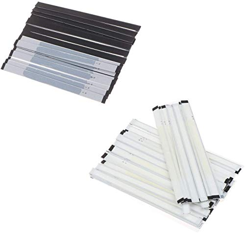 100 Pcs Peel and Stick Coffe Bag Tie, Tin Ties, Plastic, 23g Wire Bendable 5.5'