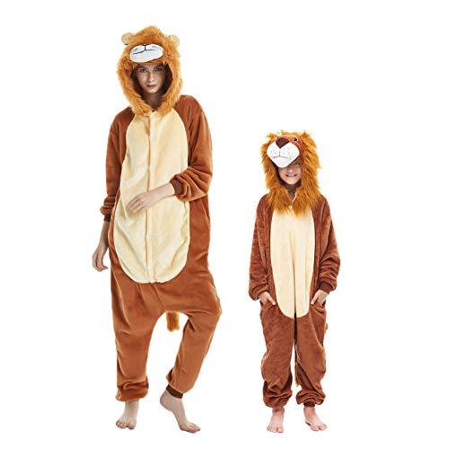 DEBAIJIA Adulto Unisex Pijamas Animal Ropa Dormir