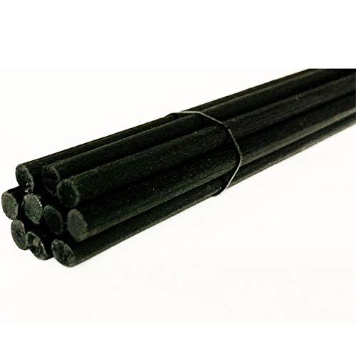 MR&MRS FRAGRANCE 10 Bâtonnets 64 cm noirs pour diffuseur Icon parfum