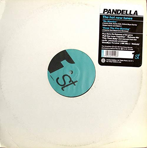 No Worries / Keep The Fire Burning - Pandella 2X12