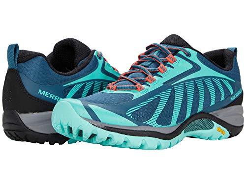 Merrell womens Siren Edge 3 Hiking Shoe, Polar/Wave, 8.5 US