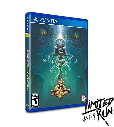 Oddworld : Munch's Oddysee HD - Limited Run #119 (1000 copies) - RARE PAX Variant - Playstation Vita (PS VITA)…