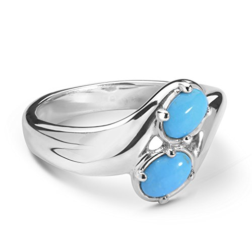Carolyn Pollack - Sterling Silver & Sleeping Beauty Turquoise Ring - 5 - CP Sleeping Beauty Collection