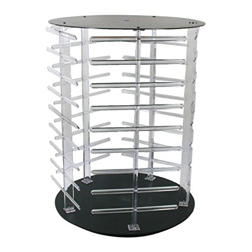revolving credit cards Rotating Earring Display Stand Revolving 180 Cards