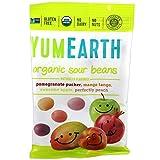 YumEarth - Pack de 6 bolsitas de 50g (300g total) de grajeas ácidas sabor frutas gominolas