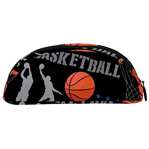 TIZORAX Federmäppchen mit Basketball-Motiv, für Mädchen, Jungen, Kinder