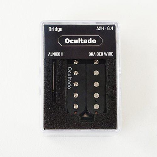 Ocultado - A2H 84 Humbucker Pickups - ALNICO II Magnets - Braided Shield Wire - Bridge