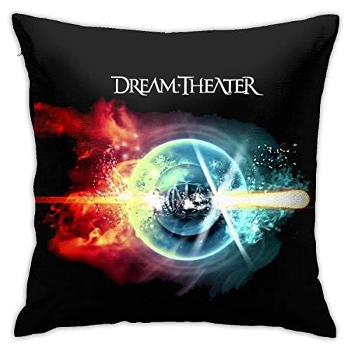 GSDGSDG Qq6earnstore Dream Theater Art - Fundas de almohada para sofá de coche, decoración del hogar, decoración de habitación