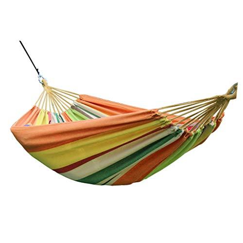 WYH Hammock Hamaca Canvas Viajes Hambols Cama Swing Cama Portátil Cuelga Multifuncional para Viajes Playa Jardín Patio Columpio