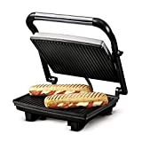 Open Mini Grill 750W Sandwich Panini Maker