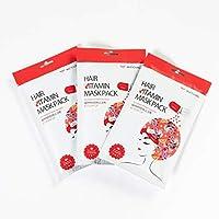 ヘアビタミンマスクパック スチームアップ 3パックセット HAIR VITAMIN MASK PACK STEAM UP