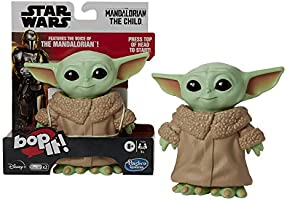 Bop It! Star Wars: The Mandalorian The Child Toy - The Mandalorian Voice and Baby Yoda Sounds - Electronic Games and...