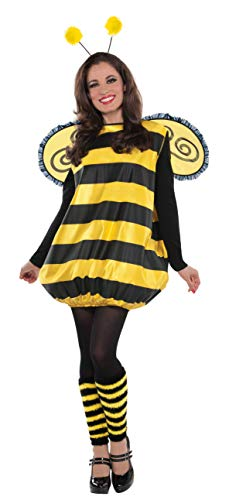 Amscan 841875 Darling Bee Costume, Adult Standard Size, 1 Piece