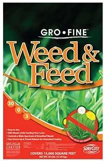 Gro Fine, 39 LB, 15,000 SQFT Coverage, 30-0-3, Gro-Fine Weed N Feed