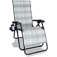 Goldsun Rattan Zero Gravity Chaise Lounge Chair