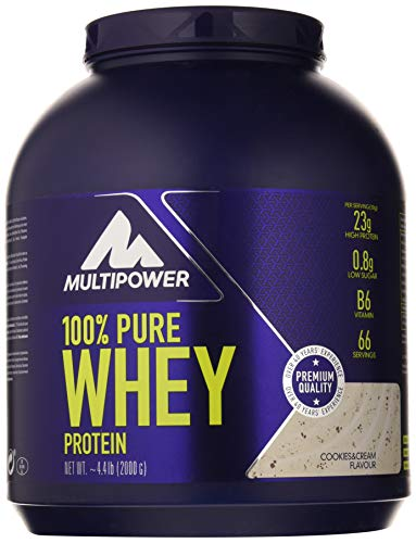 Multipower 100% Whey Protein Cookies & Cream - 2000 gr