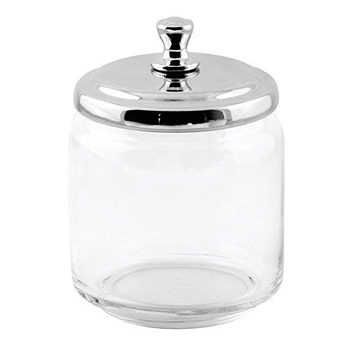 iDesign 67774EU York Apothekerglas, klein, durchsichtig / chrom