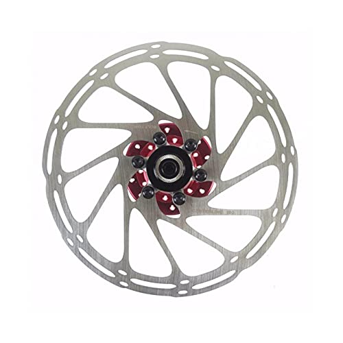 ZZHH 160 mm 180 mm MTB Mountain Bike Bike Bicycle 6-Bolt Centerline Acero Disco de Freno Ajuste para Shimano XT Piezas de Bicicleta (Size : 180mm)