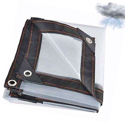 QI-CHE-YI Fenster aus Kunststoff Stoff Balkon Markise Gewächshäuser Film für Zelte, Hütten, Schwimmbadabdeckungen,5x5m