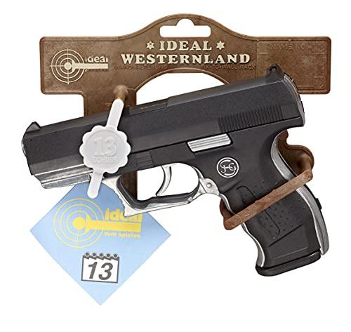Schrödel- Pistolet Jouet Euro-Cop 13-Coups, 3060961, Taille Unique