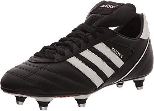 Adidas, Kaiser 5 Cup, Scarpe Sportive, Uomo, Nero (Black/Running White Ftw/Red), 42 2/3