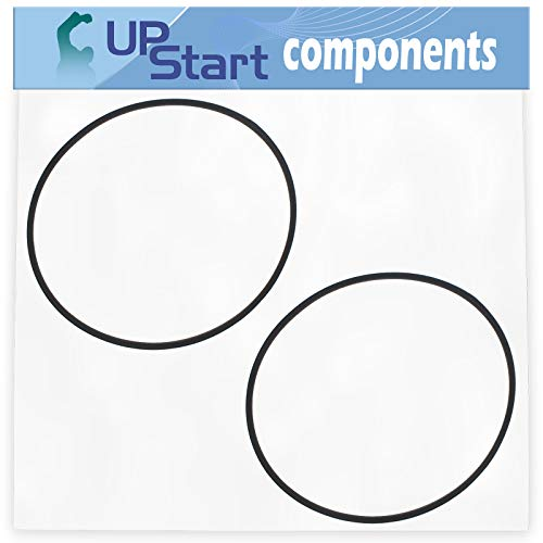 UpStart Components 2-Pack 954-0637A Drive Belt Replacement for Troy-Bilt 12AE449D011 (2007) Lawn Mower - Compatible with 754-0637A V-Belt -  LM-954-0637A-2PK-DL99