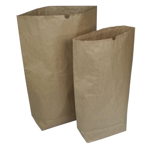 Papiersäcke Papierbeutel Bio Müllsäcke 2 Varianten 120 L oder 70 L STÜCKZAHL WÄHLBAR (25 Stück 70 Liter)