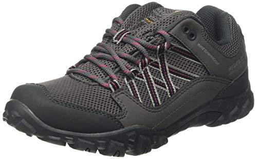 Regatta Women Edgepoint III  Waterproof Walking Shoes Low Rise Hiking Boots, Grey (Granit Duchess 805), 6 UK
