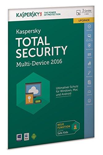 Kaspersky Total Security Multi-Device 2016 Upgrade (frustfreie Verpackung)