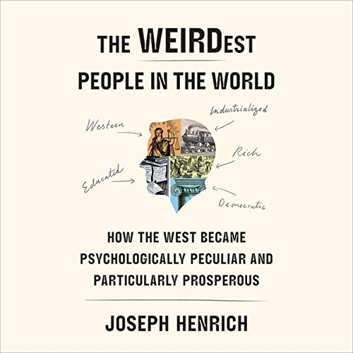 Couverture de The WEIRDest People in the World