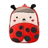 Mochilas para El Colegio Durable Mochila Bolsa Escolar Blandas Mochila Colegio Mochilas Infantiles Personalizadas para Sostener Los Juguetes De Los Niños Ladybug