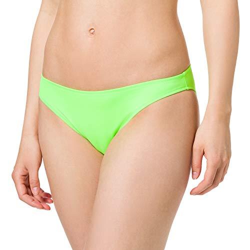 PUMA Classic Bottom Parte Inferiore Bikini, Verde Fluo, S Donna