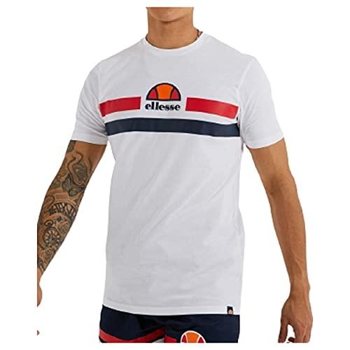 ellesse Aprela T-Shirt Herren Shirt (White, L)