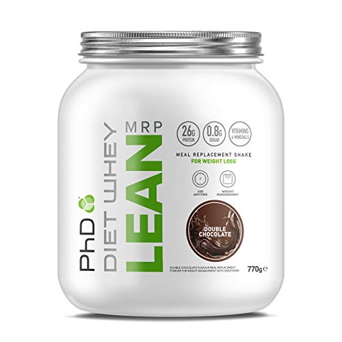 PhD Nutrition Diet Whey Lean Meal Replacement Powder, Double Chocolate