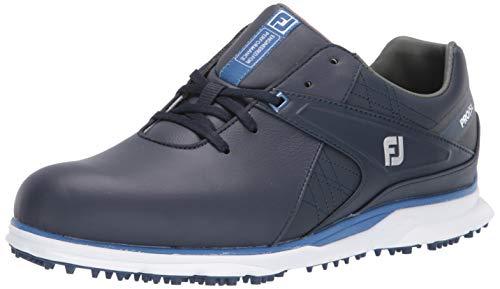 FootJoy Men's Pro/SL Golf Shoes, Navy/Light Blue, 7 M US