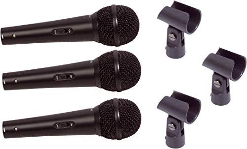 SoundLAB Vocal Kit 3 Micrófono con lleva la caja y portafotos