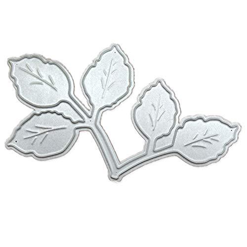 Leaves Decoration Scrapbook Metal Cutting Dies Cut die Mold Paper Craft Knife Mould Blade Punch Stencils Dies-Default