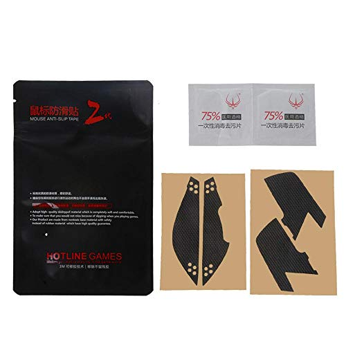 Hotline Games Mouse Skates Side Stickers Sweat Resistant Pads Anti-slip Tape For Glorious Model O Odin Mouse