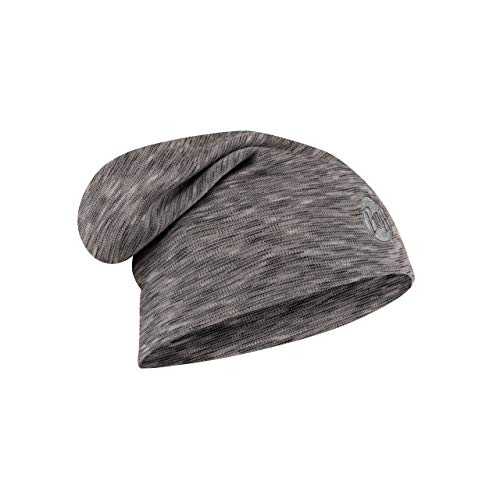 Buff Fog Bonnet Laine mérinos Heavy Gris FR : Taille Unique (Taille Fabricant : Taille One sizeque)