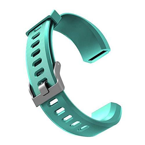 AchidistviQ Silikon Ersatz Smart Armband Band Handschlaufe für Veryfit ID115 ID115Plus for Veryfit ID115Plus Cyan
