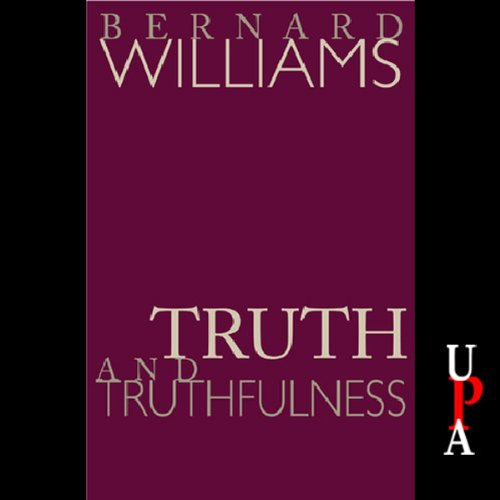 Couverture de Truth and Truthfulness
