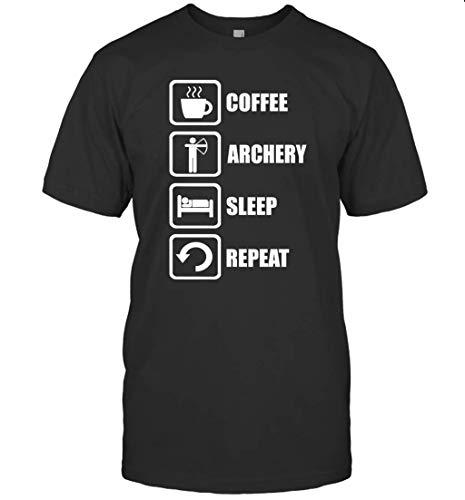 Marco Archery Coffee - Camiseta de manga corta, diseño de tiro con arco
