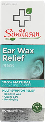 Similasan Wax Relief Ear Drops (Value Pack of 2)