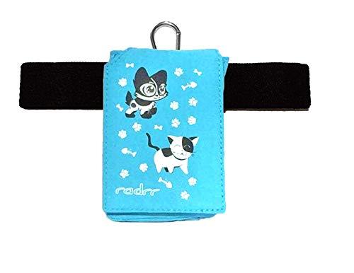 Insulinpumpe Universal Tasche mit Gürtel - Kawaii Kittens/Kätzchen