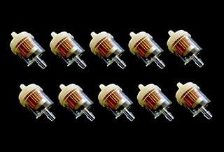 10x Benzinfilter 6mm Kraftstofffilter Universal Roller Mofa Moped Mokick