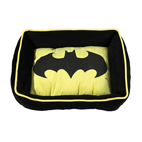 DC Comics Batman and Superman Cuddler Dog Bed $16.52 (45% Off)