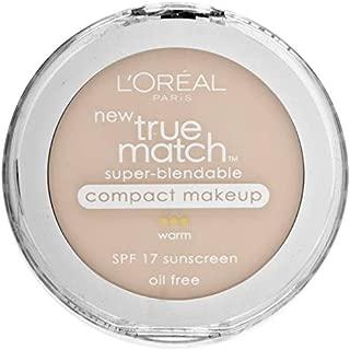 L'Oreal Paris True Match Super-Blendable Compact Makeup, Light Ivory, 0.3 oz.
