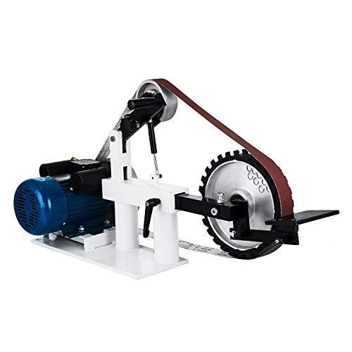 Morffa 50mmx2082mm Schleifer Bandschleifer 3 In 1 Bandschleifer 1500W 2HP 2800RPM Mehrzweck Schleifautomat mit konstanter Geschwindigkeit (Konstante Geschwindigkeit)