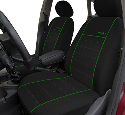Autositzbezüge, Schonbezüge Trend Line Passend für Cadillac - Universal Stoffsitzbezug Zum Sonderpreis!!! in Diesem Angebot Grün.